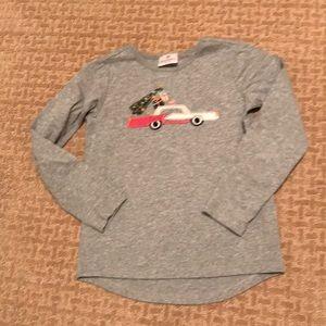 EUC Hanna Christmas shirt! Size 130
